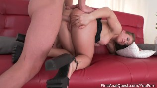 Jessica Fitness has been fantasizing about her first anal fucking for a lon Free Porn Video