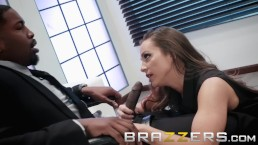 Brazzers – Abigail Mac gets some office BBC