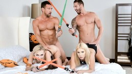 DaughterSwap – Star Wars Sluts Fuck Each Others StepDads