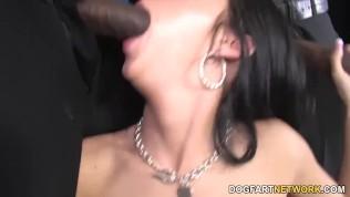 Stephanie Cane In Black Dick Heaven