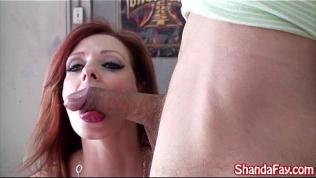 Canadian Milf Shanda Fay is a Cock Sucker!