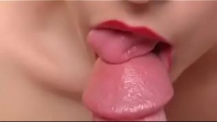 Close Up Blowjob and Cumshot