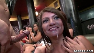 Awesome blowjob party