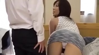 horny japanese friend and 039 s mom gets fucked even if here son is there