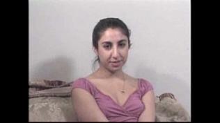 Iranian Swedish virgin Jordan First Casting,