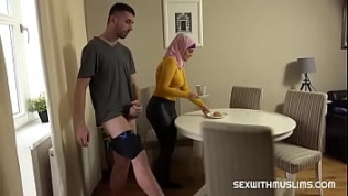 Hottest Hijab woman big tits  full