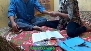 Indian ever best student Kavita sex and fuck with her Masterji In clear Hindi voice