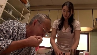 Japanese father in law fucking daughter in law