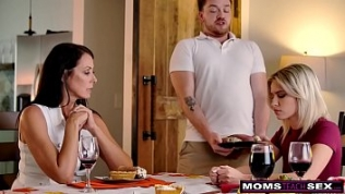 """Step Son """"I am thankful for my step moms titties, they are so helpful when I'm fantasizing in bed""""  S14:E4"""
