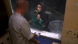 ARABS EXPOSED – Beautiful Muslim Refugee Needed A Helping Hand, Got Cock Instead
